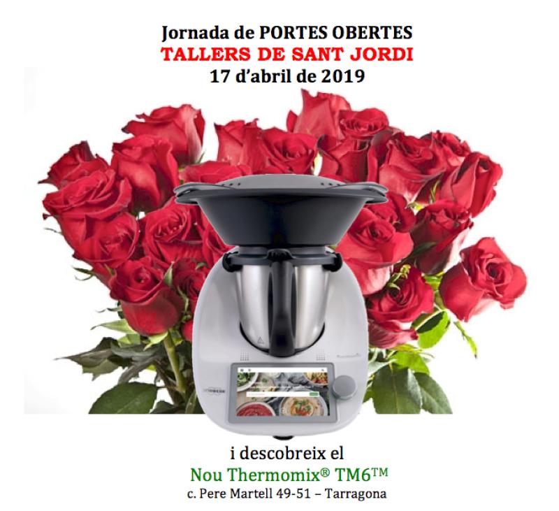 JORNADA DE PORTES OBERTES - TALLER DE SANT JORDI (17 d'abril)