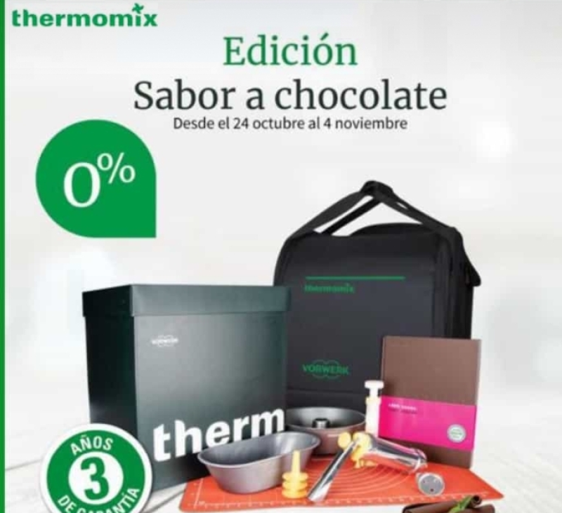 Thermomix® TM6 ''Edición Sabor a chocolate''