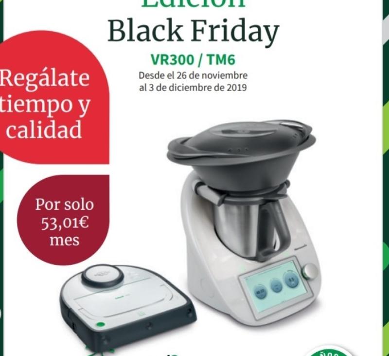 BLACK FRIDAY Thermomix® + ROBOT ASPIRADOR VR300