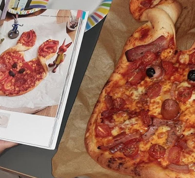 Disney-Pizza de la Judy