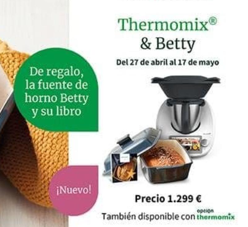 Tu Thermomix® TM6 y la fantástica Betty de regalo!