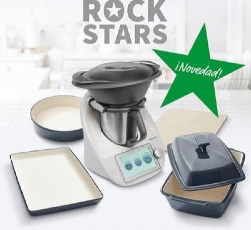 Edición Thermomix® Rock Star con menaje cerámica gres!!