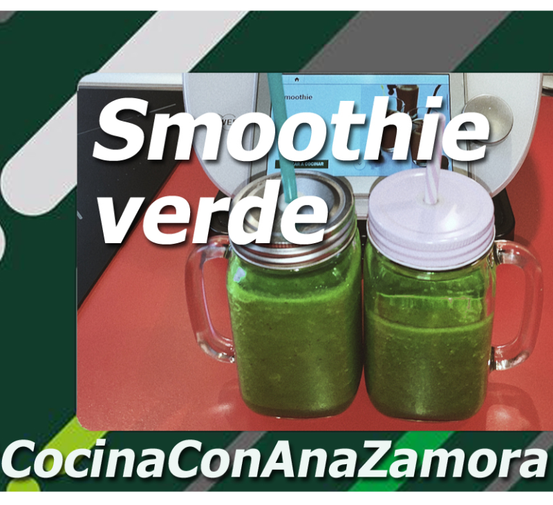 Smoothie verde con Thermomix®