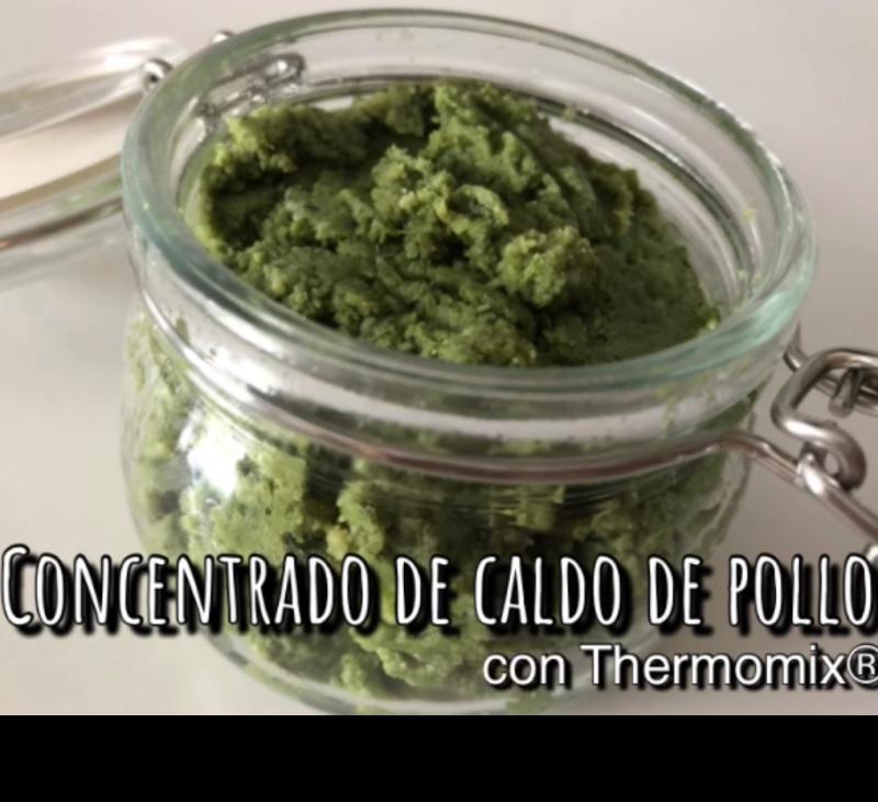 CONCENTRADO DE CALDO DE POLLO CON Thermomix®