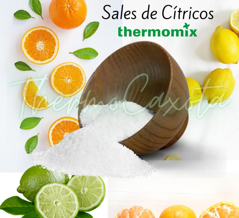 SALES DE CÍTRICOS CON Thermomix®