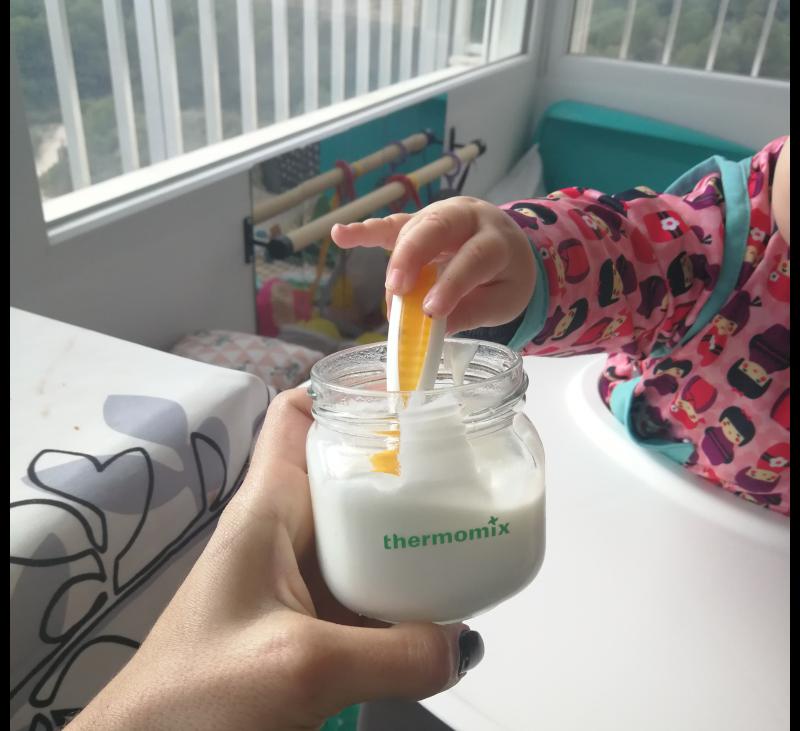 Cómo hacer Yogur Natural para Bebés con Thermomix® ? El Yogur de la Yaya.