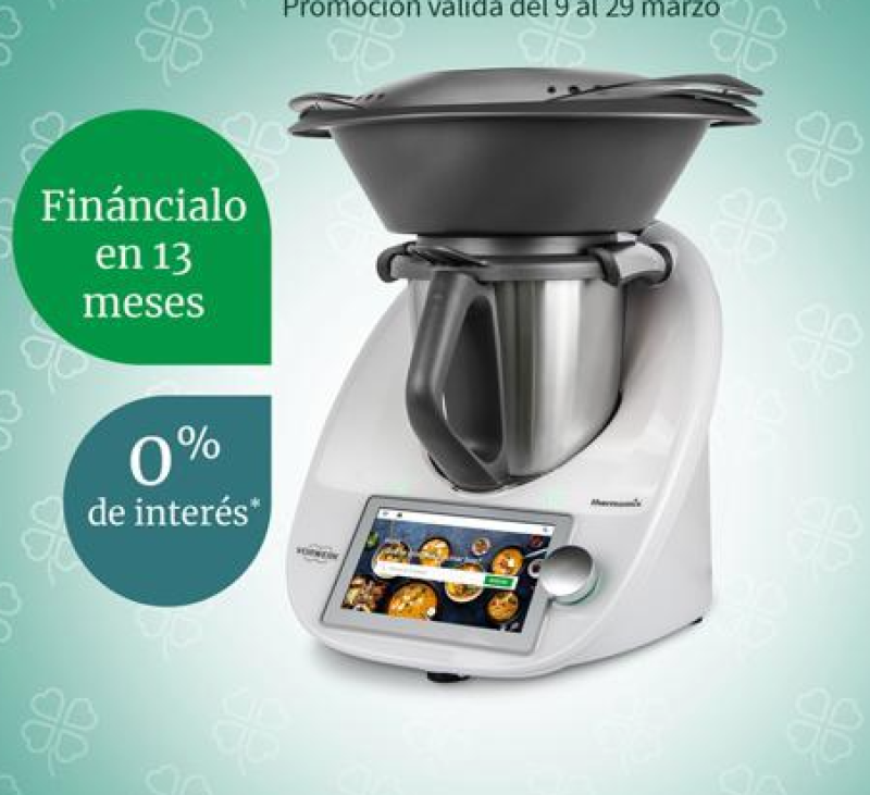 Thermomix® TM6 sin intereses (0%) Por 13 razones...