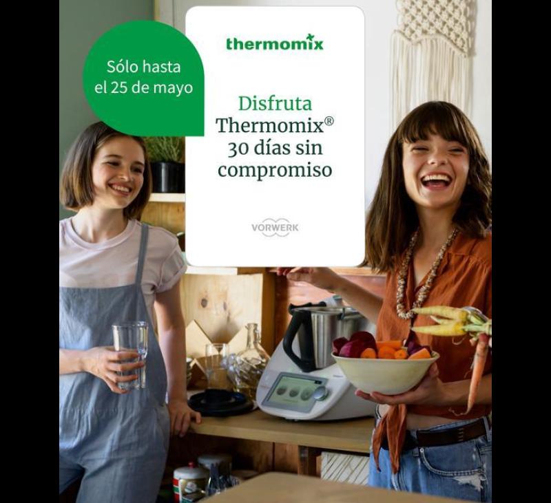 Disfruta de Thermomix® durante 30 días sin compromiso