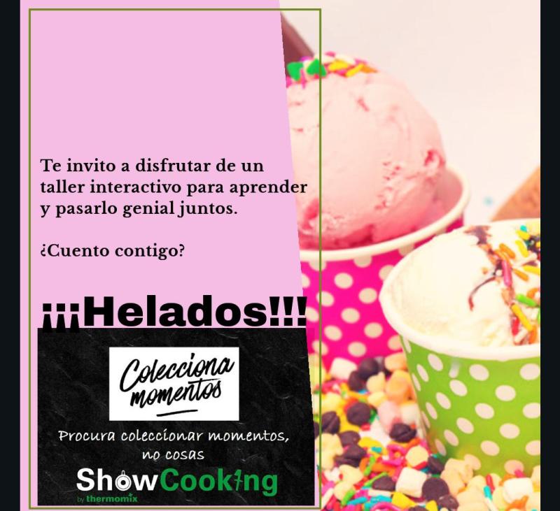 ÉPOCA DE HELADOS, MEJOR CON Thermomix® !!!!