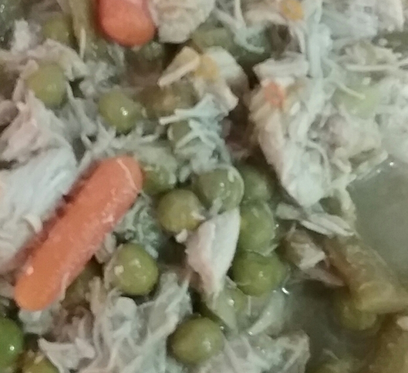 Menestra verduras con pollo con Thermomix®