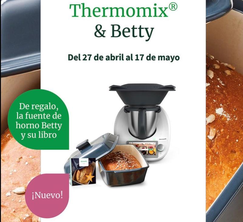 Thermomix® TM6 & BETTY. PER A LA MARE.