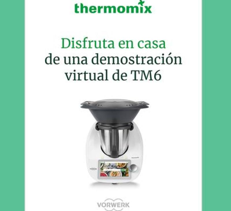 Especial confinamiento : Demostración virtual #yomequedoencasa Comprar Thermomix®