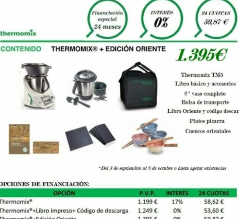 Thermomix® O% INTERESES