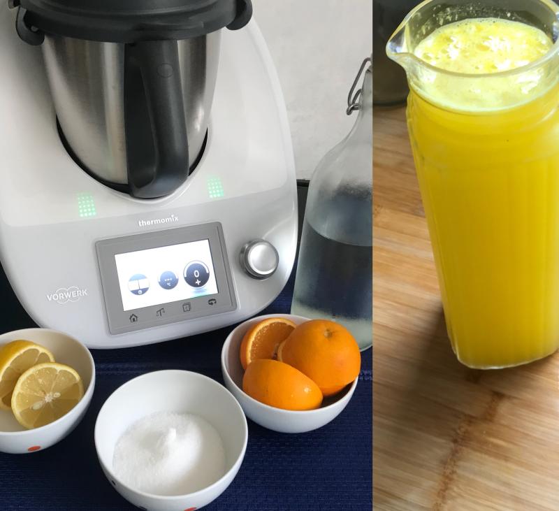 Zumo de Naranja con solo 2 segundos