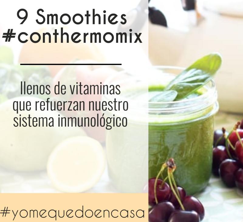 9 Smoothies llenos de vitaminas con Thermomix®