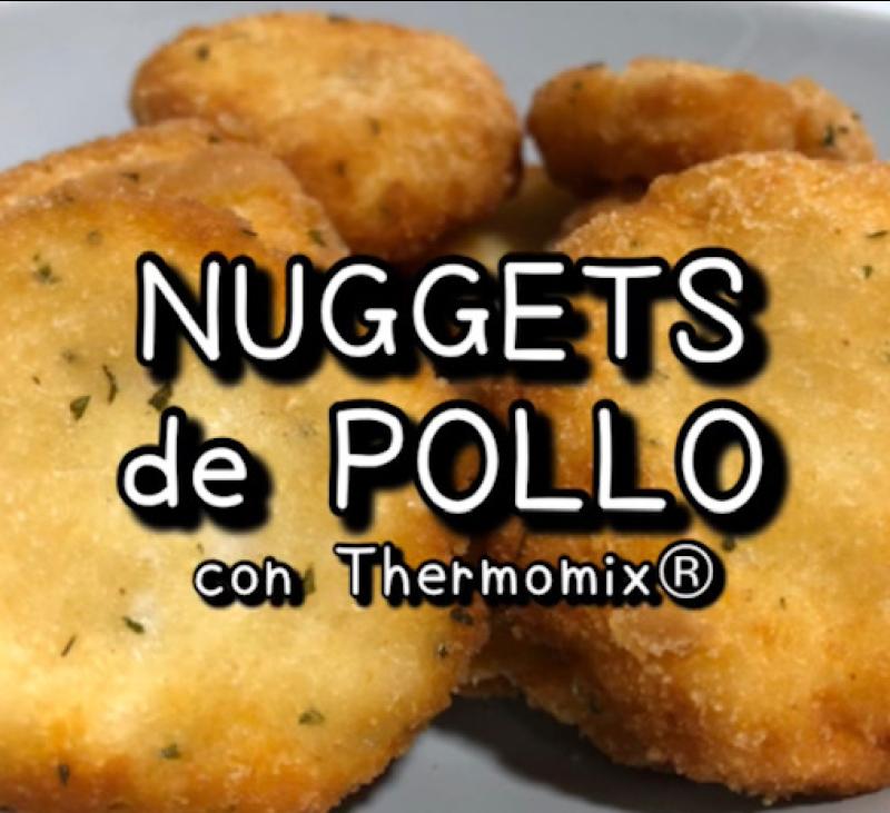 NUGGETS DE POLLO SIN GLUTEN CON Thermomix®