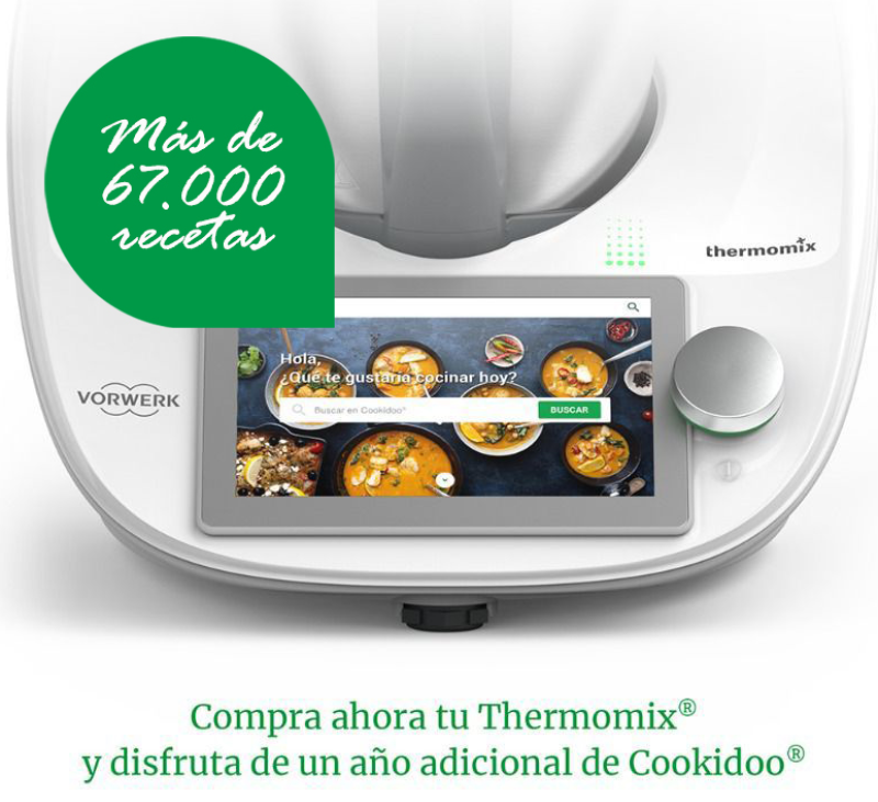 OPCIÓN Thermomix® - la mejor forma de comprar Thermomix® - 1 año gratis a Cookidoo