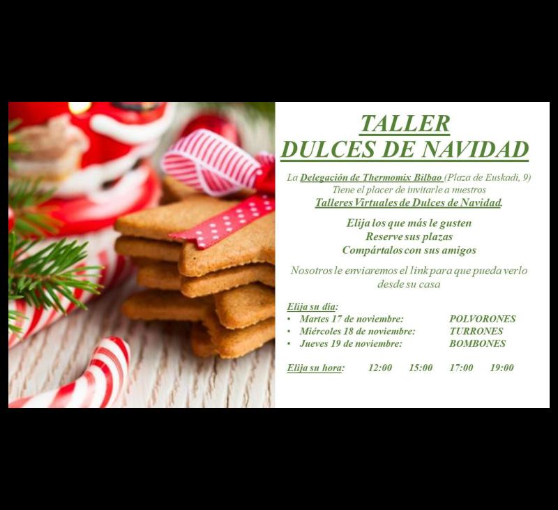 Taller dulce de Navidad con Thermomix®
