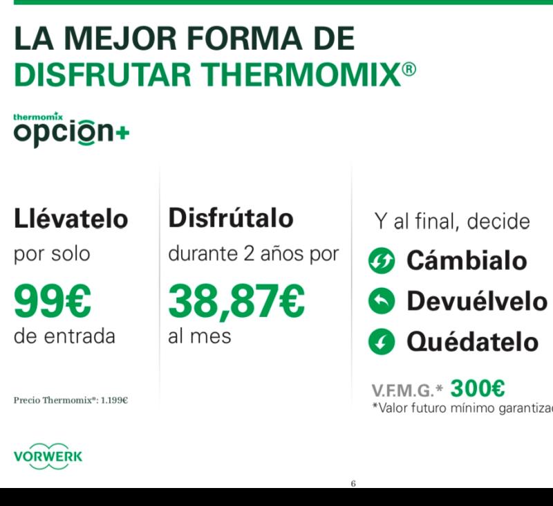 OPCIÓN + :La mejor forma de disfrutar Thermomix® ️