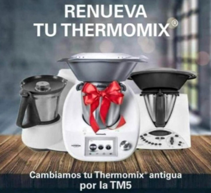 PLA RENOVE DEL TEU ANTIC MODEL Thermomix® !