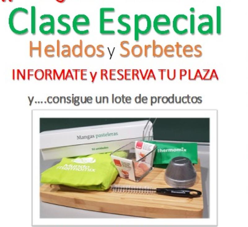 CLASE DE HELADOS Y SORBETES
