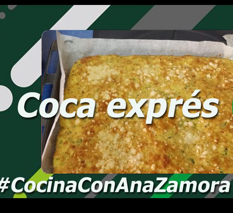 Coca exprés con Thermomix®