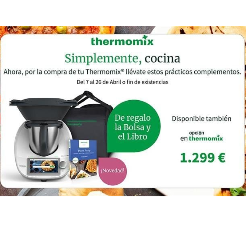 Thermomix® Tm6 y 2 regalos