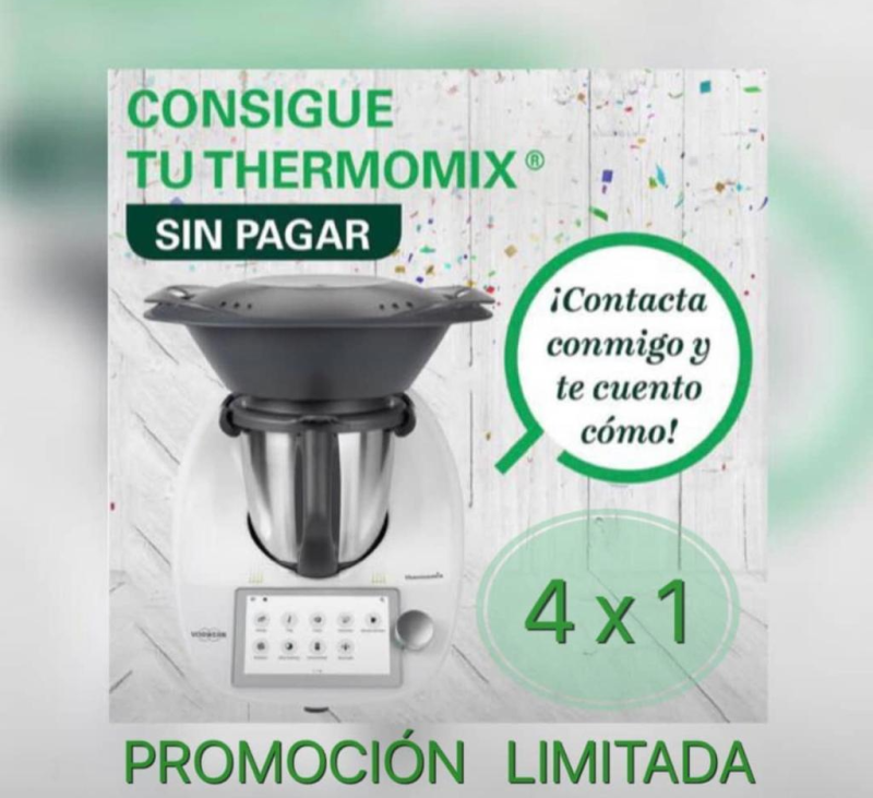 Ampliamos! Thermomix® TM6 GRATIS con el 4x1
