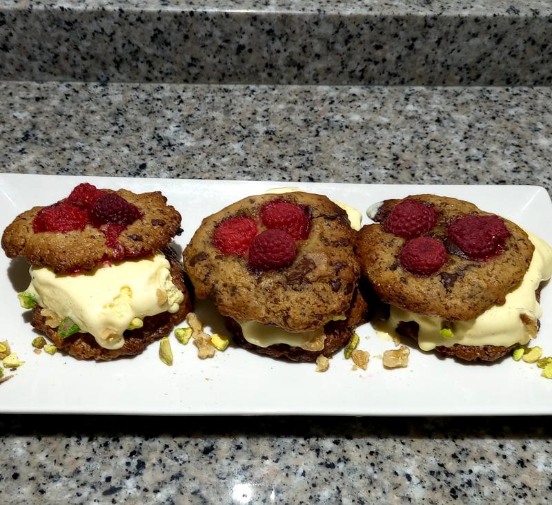 Ice cream cookie sándwich - Especial 150 celebraciones