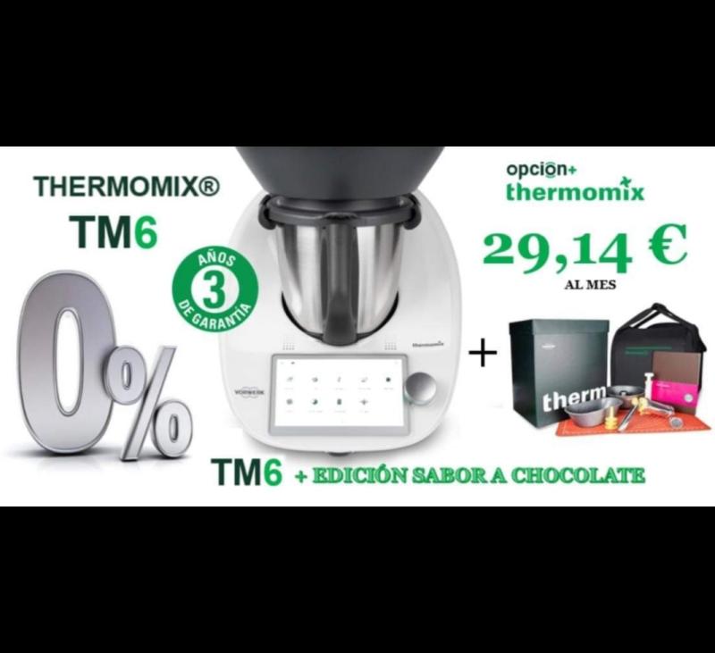 Thermomix® Tm6 al 0% de INTERÉS