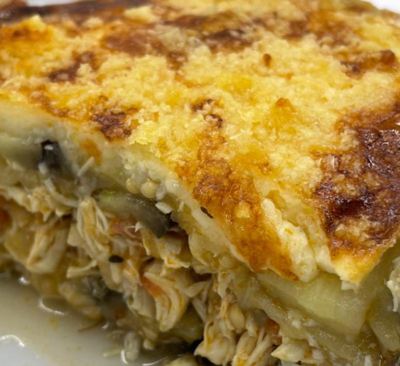 Moussaka de pollo (light)