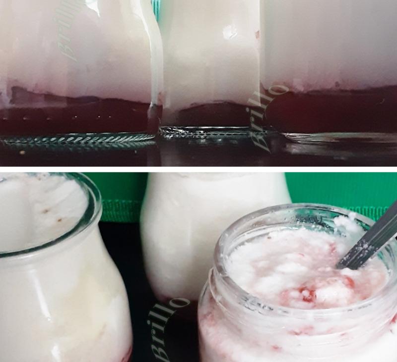 III Yogurt de fresas