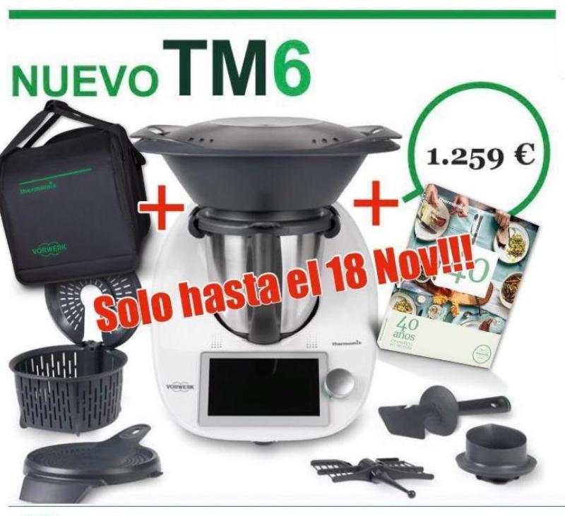Regalazo 40 ANIVERSARIO - Thermomix® TM6 + bolsa + libro