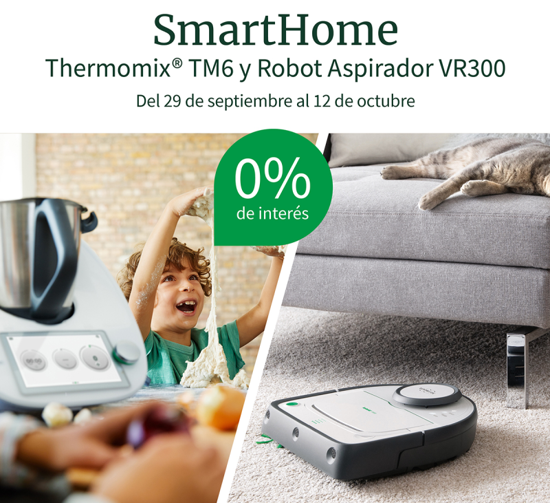 EDICIÓN SMARTHOME Thermomix® Y KOBOLD AL 0%