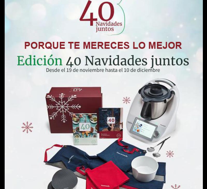 Regala bienestar con la Edición 40 Navidades juntos