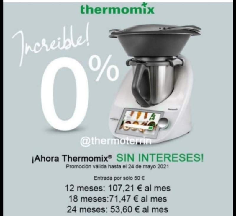 Thermomix® TM6 0% intereses
