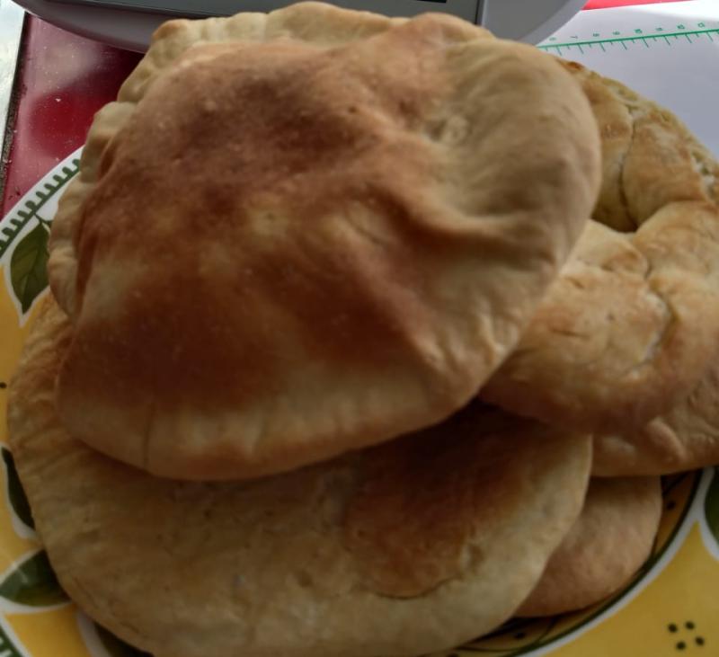 Descubriendo el pan de pita
