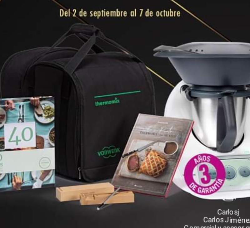 Celebramos el 40 aniversario de Thermomix® ️. Villanueva de la Serena/Don Benito (Badajoz)
