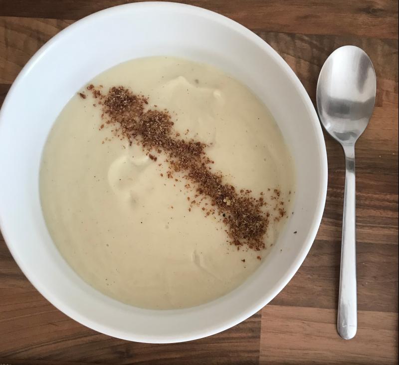 Crema Dubarry (de coliflor)