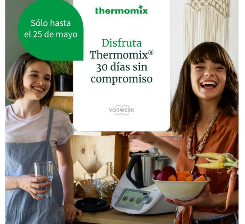 Disfruta de Thermomix® gratis 30 días!