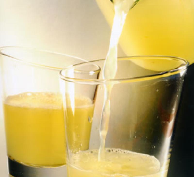 Limonada y Actimel