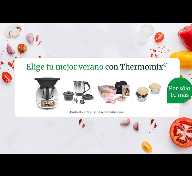 ELIGE TU MEJOR VERANO CON Thermomix® Y POR 1€ MÁS....