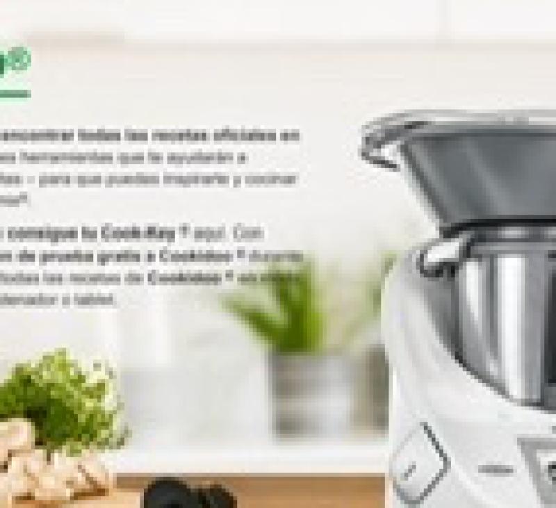 Cookido te ofrece 30 días gratis para ver todas las recetas Thermomix®