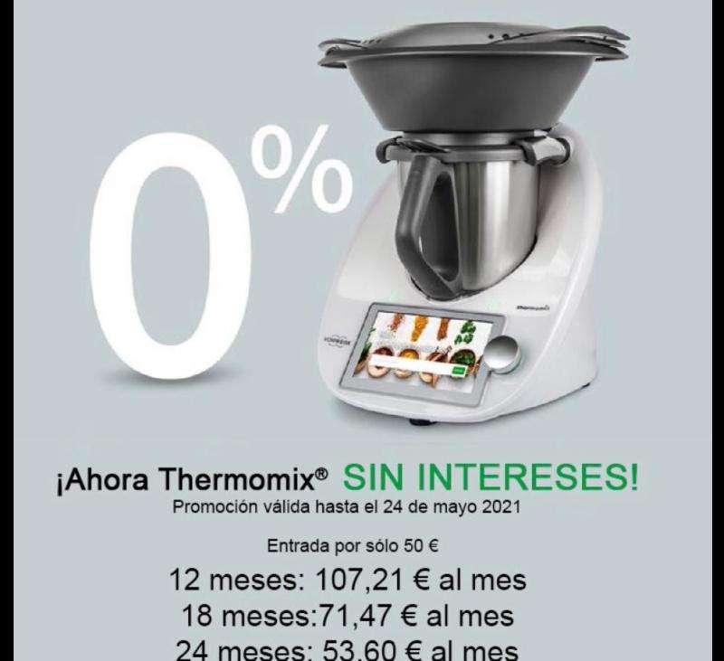 Promoción Thermomix® 0% Interés
