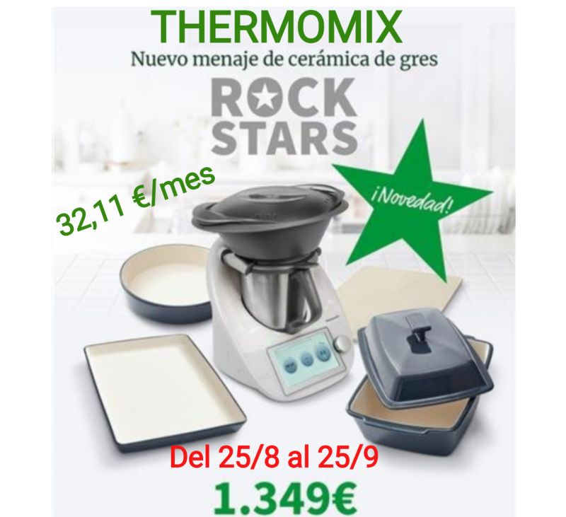 UNA ESTRELLA Thermomix® ROCK START