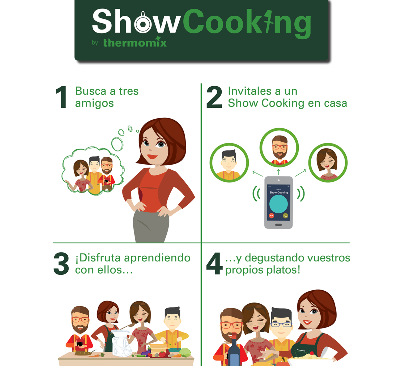 Show cooking !!con Thermomix® ??