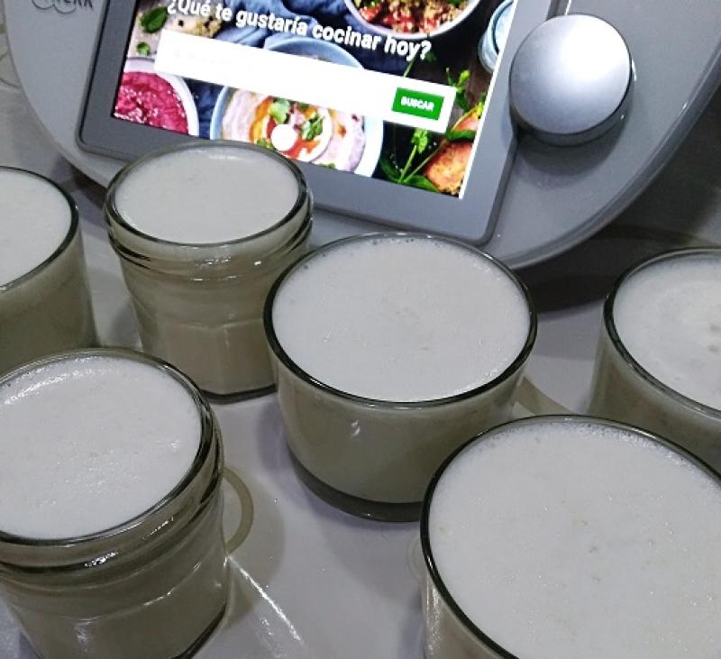 Yogurt de los abuelos en Thermomix® , Villanueva de la Serena, Badajoz.