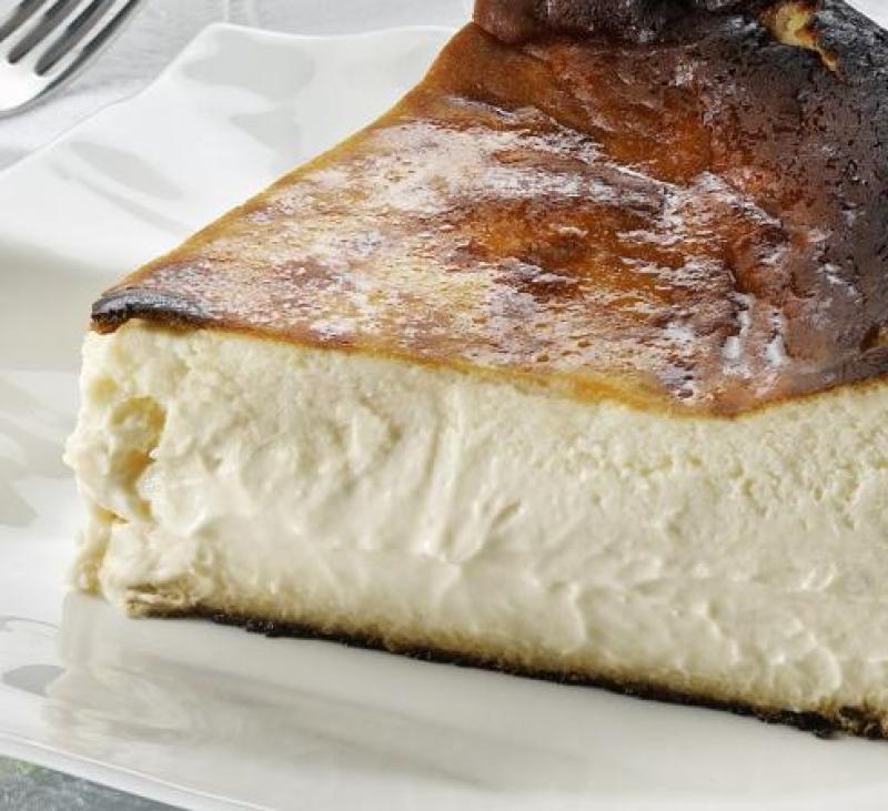 Tarta de queso del restaurante La Viña®, en San Sebastián.