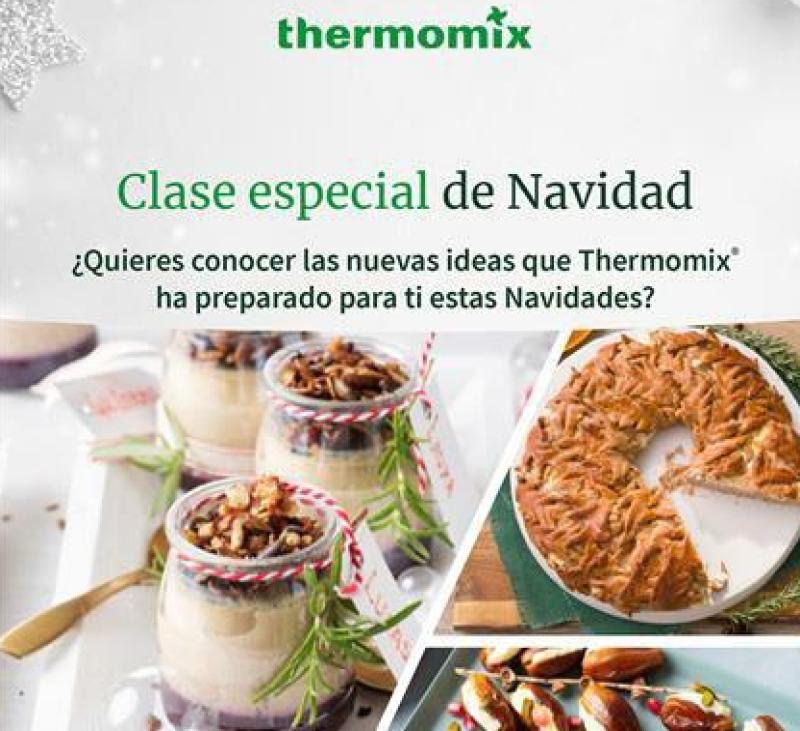 Clase Especial de Navidad Thermomix®