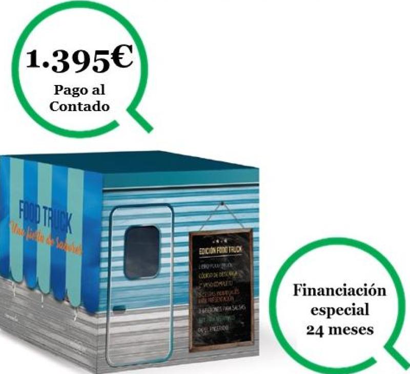 EDICIÓN FOOD TRUCK (0%, 2º vaso,bolsa transporte y mucho mas)
